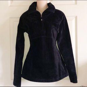 OBERMEYER Fleece Quarter Zip Pullover